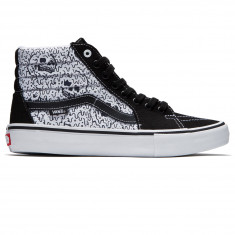 Vans X Sketchy Tank SK8-Hi Pro Shoes - Black/White/Reflective