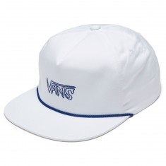 Vans Sketch Tape Shallow Unstructured Hat - White