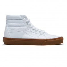 Vans SK8-Hi Reissue Shoes - True White/Light Gum