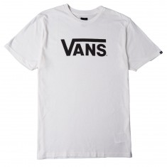 Vans Classic Heather T-Shirt - Marshmallow/Black