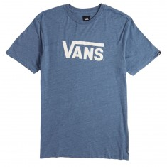 Vans Classic Heather T-Shirt - Copen Blue/White