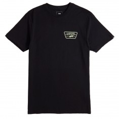 Vans Full Patch Back T-Shirt - Black/Ambrosia