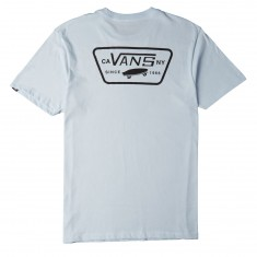 Vans Full Patch Back T-Shirt - Baby Blue/Black