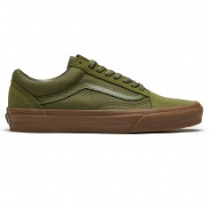 Vans Old Skool Shoes - Winter Moss/Gum
