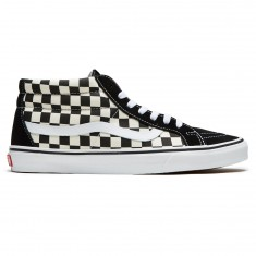 Vans Sk8-Mid Reissue Shoes - Checkerboard/True White