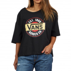Vans Chromo Womens T-Shirt - Black
