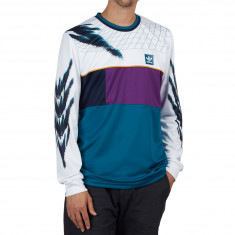 Adidas Tennis Jersey - White/Tribe Purple/Real Teal