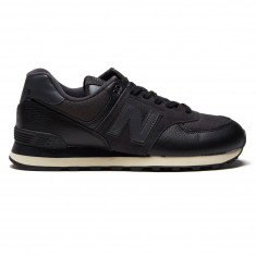 New Balance 574 Suede Shoes - Black