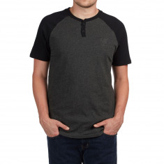 Vans Hitson III T-Shirt - Black Heather