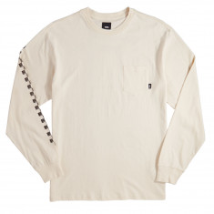 Vans Square Root Long Sleeve T-Shirt - Raw Cotton