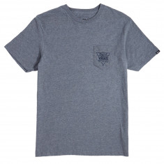 Vans Original Triangle Pocket T-Shirt - Heather Grey
