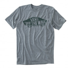 Vans OTW T-Shirt - Heather Grey/Darkest Spruce