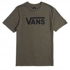 Vans Classic Heather T-Shirt - Grape Leaf/Black