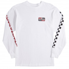 Vans x Independent Checkerboard Long Sleeve T-Shirt - White