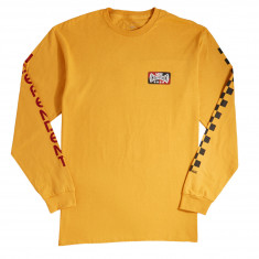 Vans x Independent Checkerboard Long Sleeve T-Shirt - Sunflower