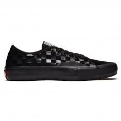 Vans AV Classic Pro Shoes - Hairy Suede Black