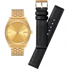 Nixon Time Teller Pack Watch - All Gold/Black