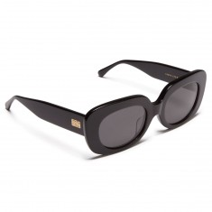 Crap Eyewear Velvet Mirror Sunglasses - Gloss Black