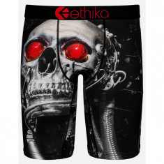 Ethika Cant Compute Boxer Brief - Black/Red
