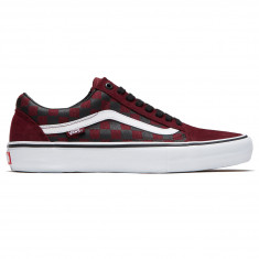 b78a5764b2973a Vans Old Skool Pro Shoes - Port Royale Black