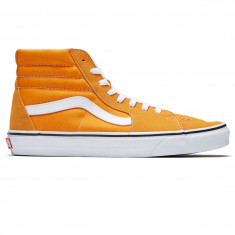 e31c723a33b189 Vans Sk8-Hi Shoes - Dark Cheddar True White
