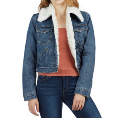 Levi's Womens Styled Sherpa Trucker Jacket - Soft Shell