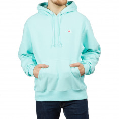 Champion Reverse Weave Hoodie - Waterfall Green