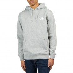 Vans Full Patched Hoodie - Cement Heather/White