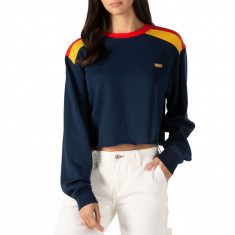 Vans Womens Rainee Crew Sweatshirt - Dress Blues