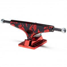Krux Krome Rose Standard Skateboard Trucks - Red