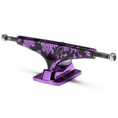Krux Krome Rose Standard Skateboard Trucks - Purple