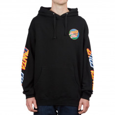 Santa Cruz Dot Blocker Hoodie - Black