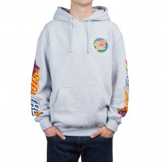 Santa Cruz Dot Blocker Hoodie - Grey Heather