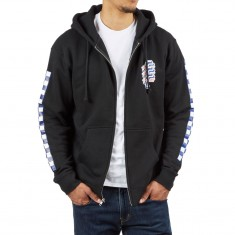 Santa Cruz Check OGSC Zip Hoodie - Black