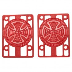 """Independent Genuine Parts Risers - Red - 1/8"""""""