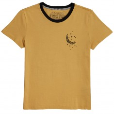 Volcom Womens Stoked On Stone T-Shirt - Vintage Gold