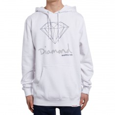 Diamond Supply Co. OG Sign Pullover Hoodie - White
