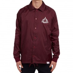 Diamond Supply Co. Mountaineer Coaches Jacket - Burgundy