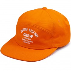 Diamond Supply Co. Crew 7 Panel Hat - Orange