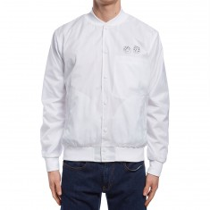 Diamond Supply Co. Club Varsity Jacket - White