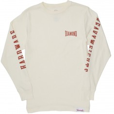 Diamond Supply Co. Cresecendo Long Sleeve T-Shirt - Cream