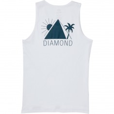 Diamond Supply Co. Oases Tank Top - White