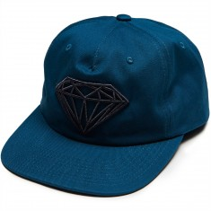 Diamond Supply Co. Brilliant Unstructrured Snapback Hat - Torquoise