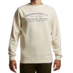 Diamond Supply Co. The Piece Crewneck Sweatshirt - Cream