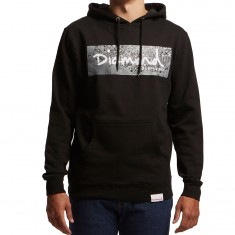 Diamond Supply Co. Scattered Box Logo Hoodie - Black