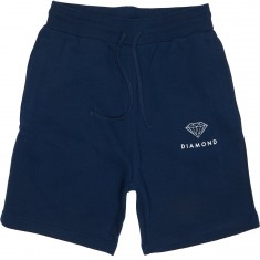 Diamond Supply Co. Futura Sign Sweat Shorts - Navy