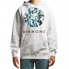 Diamond Supply Co. Dispersion Hoodie - White