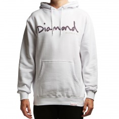 Diamond Supply Co. OG Script Hoodie - White