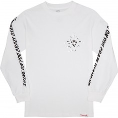 Diamond Supply Co. Outshine Longsleeve T-Shirt - White