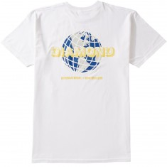 Diamond Supply Co. World Wide T-Shirt - White